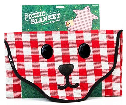 SUCK UK Bear Skin Gingham Picnic (Teddy Bear Gifts Uk)