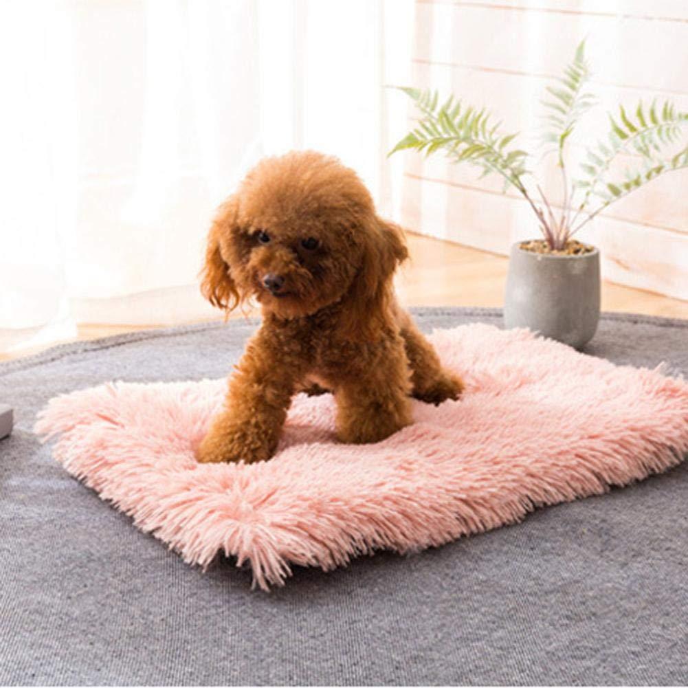 Sedie Divani Auto 35 50cm Convenient Proficient marvelously courti Blanket Pet Morbida Lana Sleeping Mat Caldo per Il Piccolo Cane del Gatto Inverno Messi in Canili