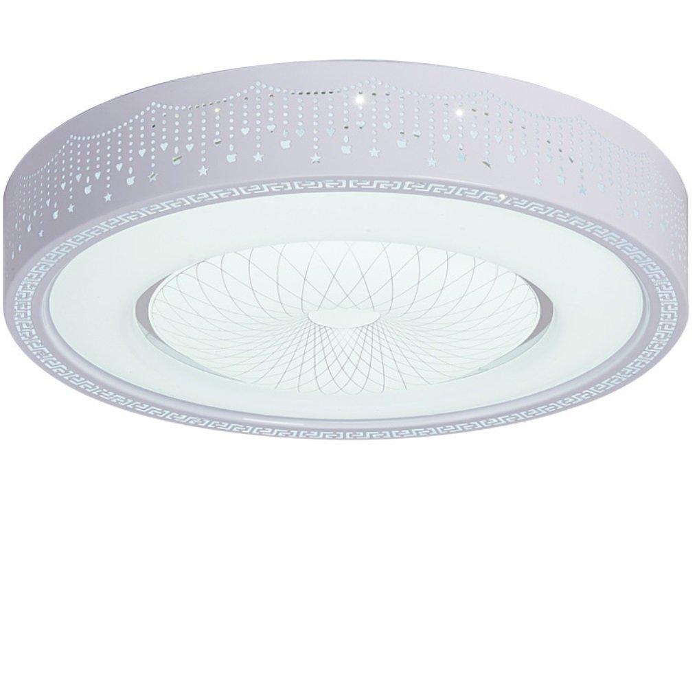 HAGDS Ceiling Lamp Dream Ceiling Dream Modern Ceiling LampLiving Room, Office, Bathroom, Kitchen, Hallway, Flush Ceiling Light Xuan (Size : 52CM/30W, Style : White Light)