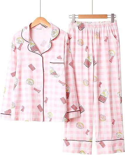 Pijama Establece pijama de flor suave de la manera pijamas ...