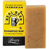 Tasmanian Real Beer Shampoo Bar with Hops Flowers