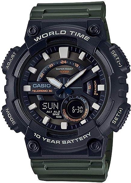 Casio Montres bracelet AEQ 110W 3AVEF: : Montres 9KXDk
