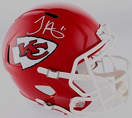 84705eba Amazon.com: Tyreek Hill Autographed Kansas City Chiefs Helmet ...