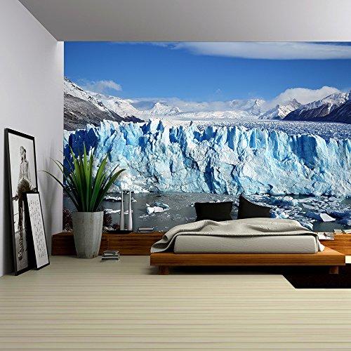 Glacier Landscape and Iceberg