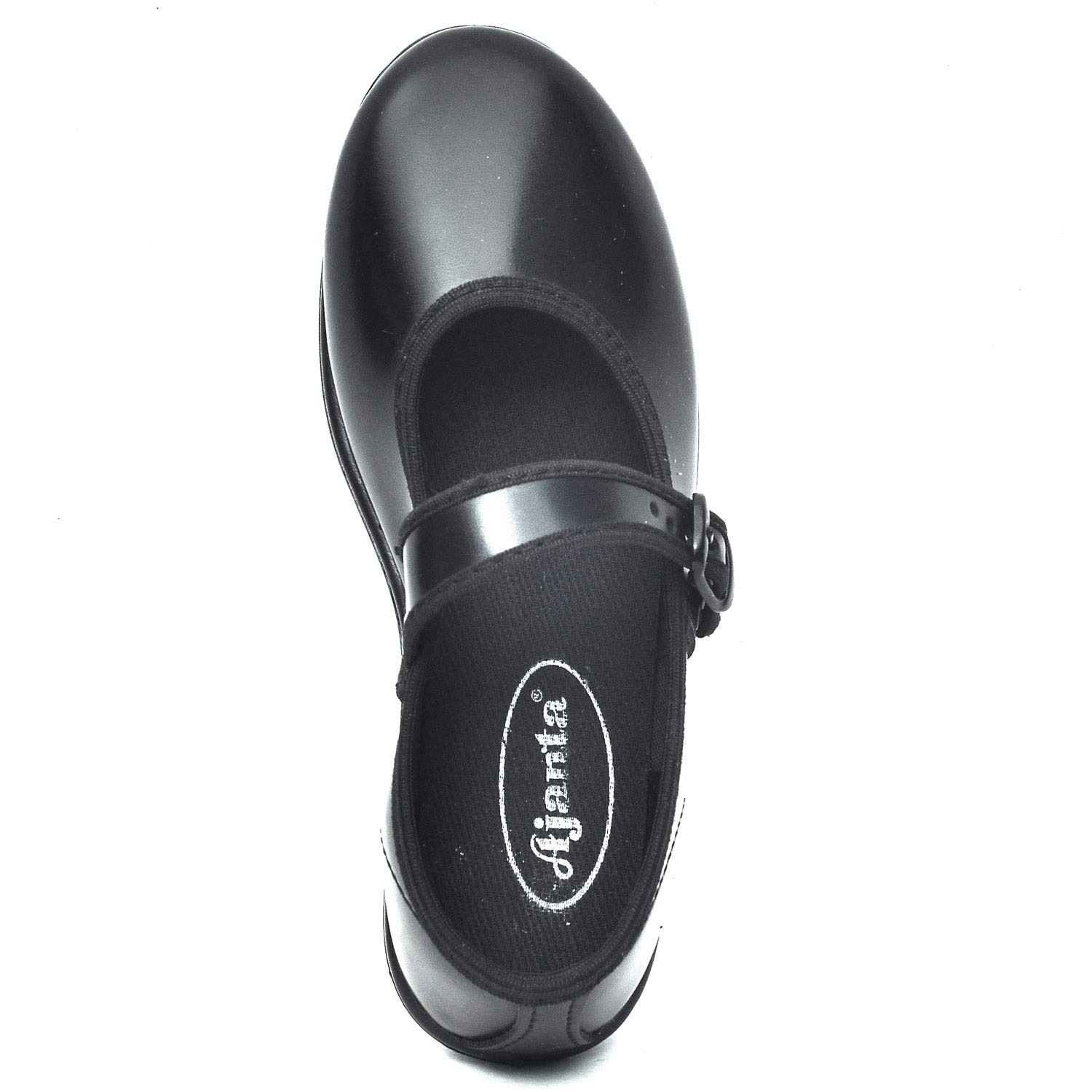 4aa8a79a4 Skolar Girl s Black Artificial Leather Shoes  Amazon.in  Shoes   Handbags