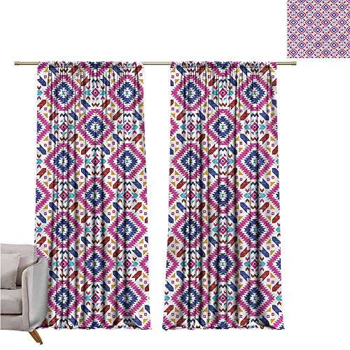 zojihouse Tribal Fashion Room Darkening Window Curtains 55