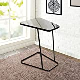 Lifewit Nightstands (C-Shape Side Table Black)