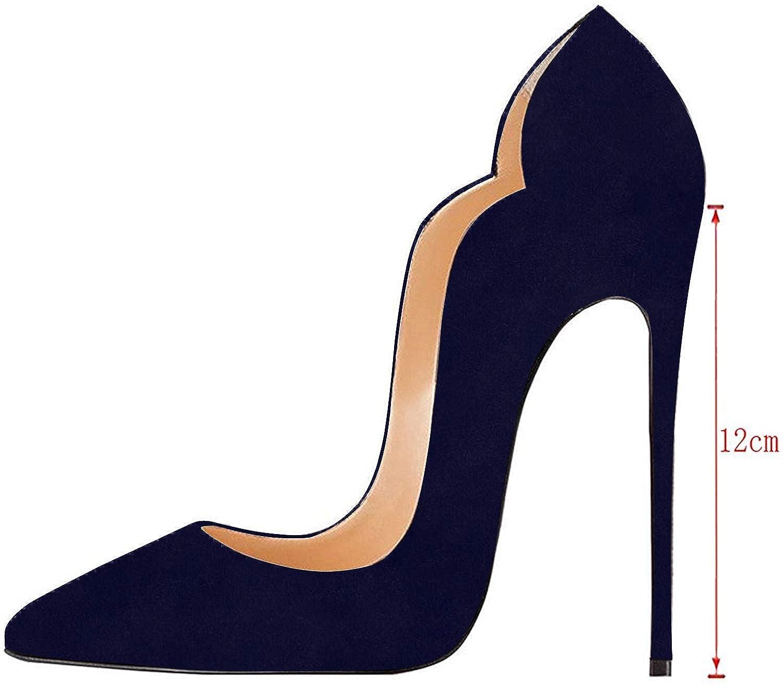 cfbb42156ae4d2 elashe Escarpins Femmes Chaussures Stiletto 12cm Talon Aiguille Grande  Taille Laçage: Amazon.fr: Chaussures et Sacs