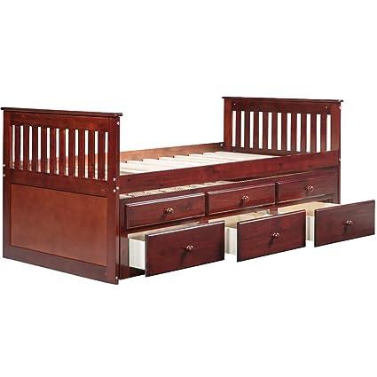 Outstanding Amazon Com Sofa Bed Platform Storage Bed With Drawers Uwap Interior Chair Design Uwaporg