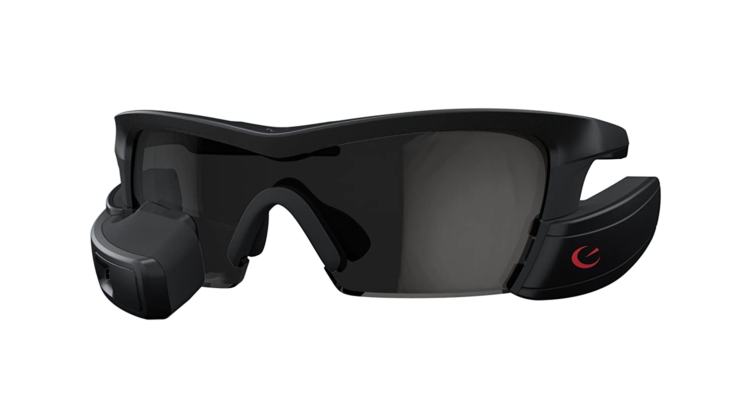 fc84f56f7f8 Amazon.com  Recon Jet Smart Eyewear for Sports and Fitness - Black  Cell  Phones   Accessories