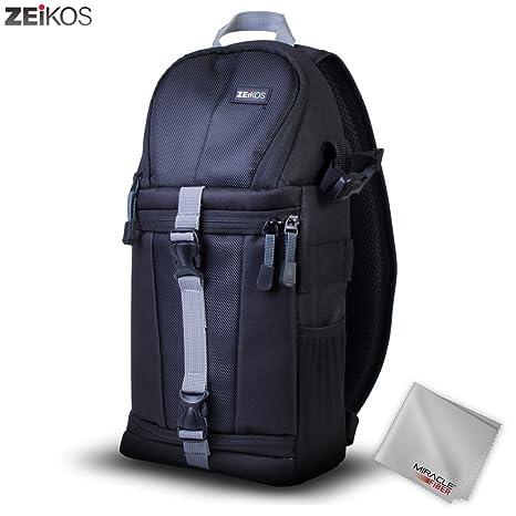 Amazon.com: Zeikos Deluxe - Bolsa para cámara de fotos y ...