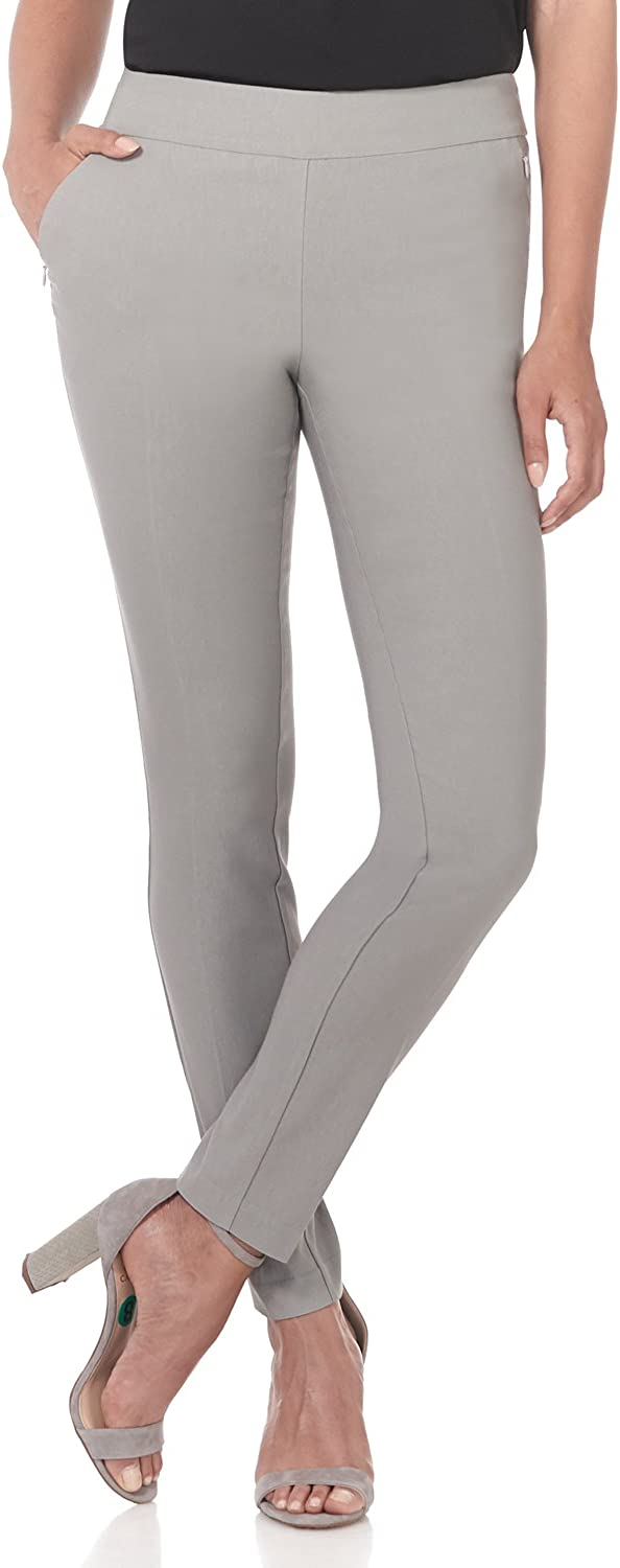 Rekucci Women's Ease into Comfort Modern Stretch Skinny Pant with Tummy Control