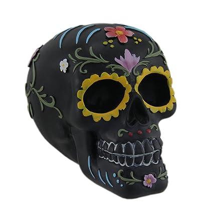 3aa99a933 Amazon.com: Everspring Sugar Skull Decoration, Black: Home & Kitchen