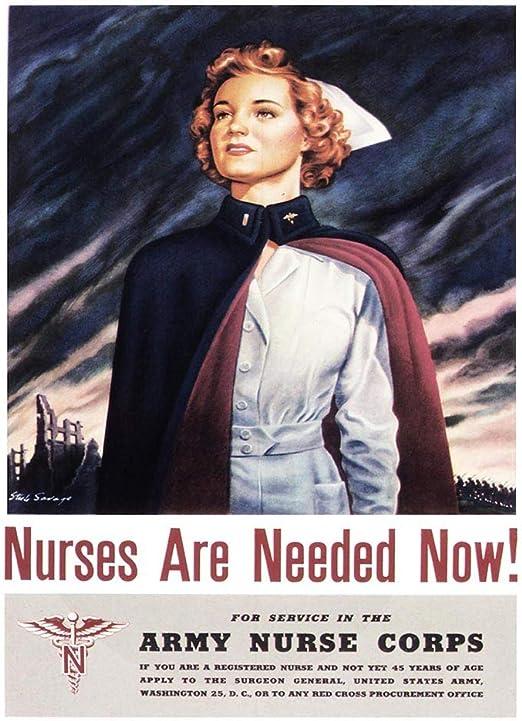 Vintage War information Poster reproduction Enlist