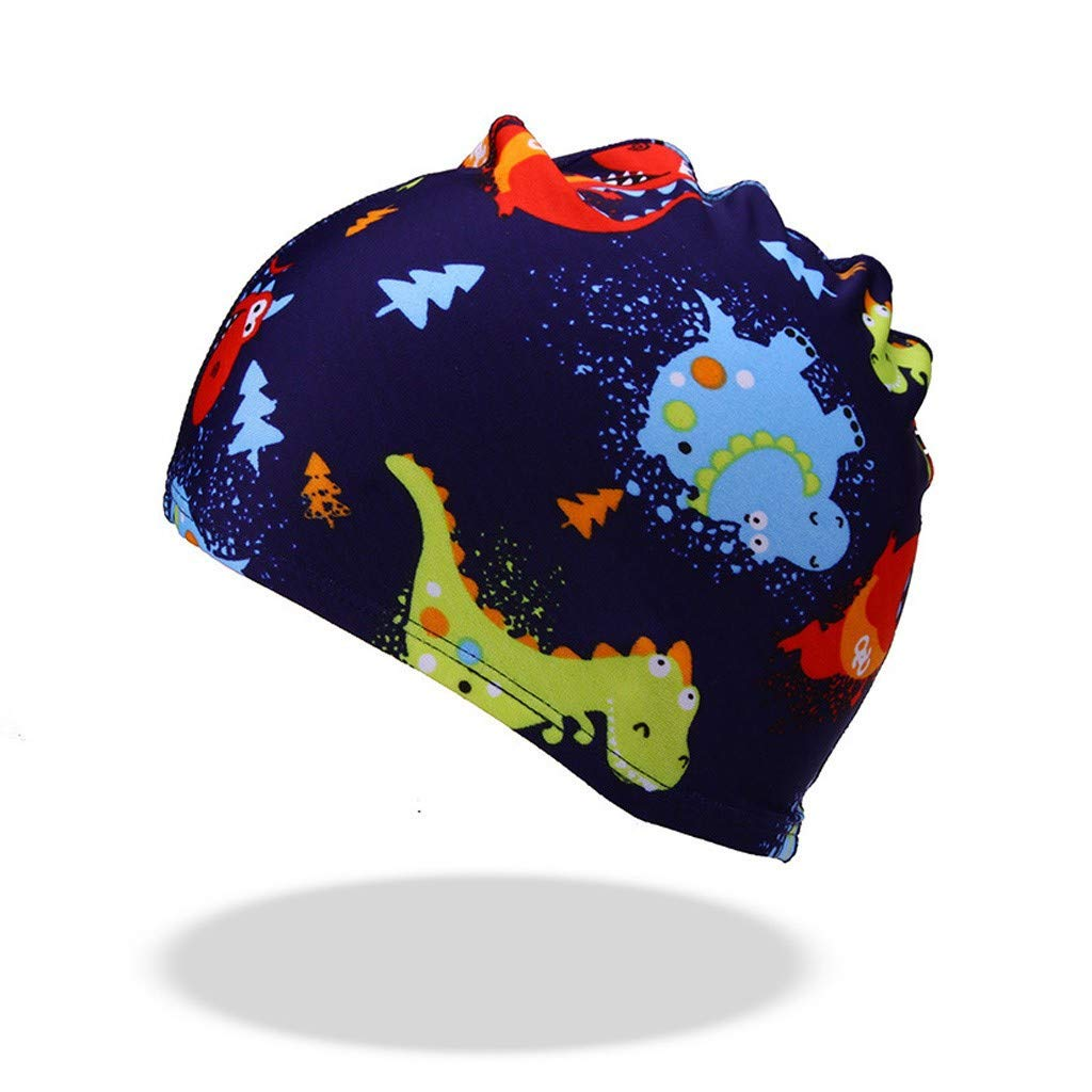 Badekappe Kinder Schwimmen Sommer Print Multi Style Cartoon /Ärmel Hut