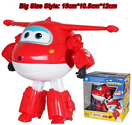 Details about  /NEW Styles Super Wings Action Figure Toy Mini Airplane Robot Superwings child