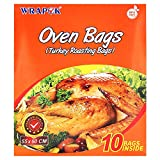 WRAPOK Turkey Oven Bags Large Roasting Cooking Size