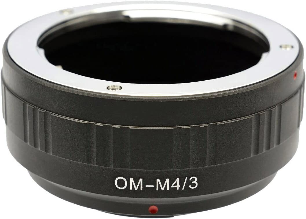 Photo Plus Olympus OM Lens Adapter for Panasonic Lumix DMC-GH3 GH2 GH1 GF6 GF5 GF3 GF2 GF1 G10 G6 G5 G3 G2 G1 AG-AF100