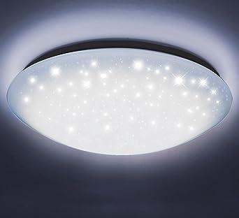 Decken Wand Leuchte Led Bad Lampe rund Wohn Schlaf Zimmer Flur 40cm ...