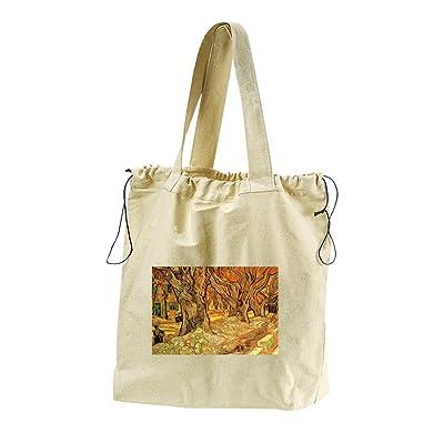 b46c0fa52aa6a good The Road Menders #3 (Van Gogh) Canvas Drawstring Beach Tote Bag ...
