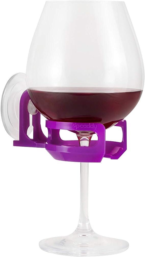 Shower Beer Holder GREY Bath Cup Suction Bathroom Drink Soap Useful