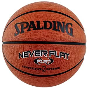 Spalding Never Flat Outdoor Intermediate Size Basketball
