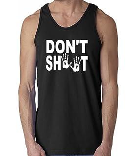 Raw T-Shirts Hands Up Dont Shoot - Black Lives Matters Mens Tank