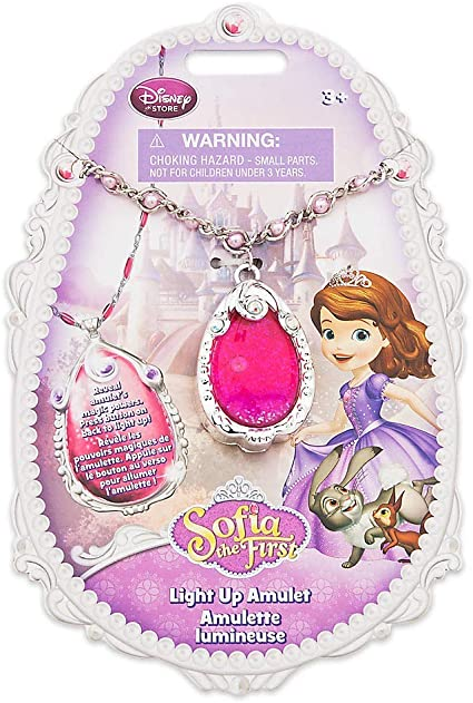 Amazon.com: Sofia el primer amuleto brillante de Disney ...