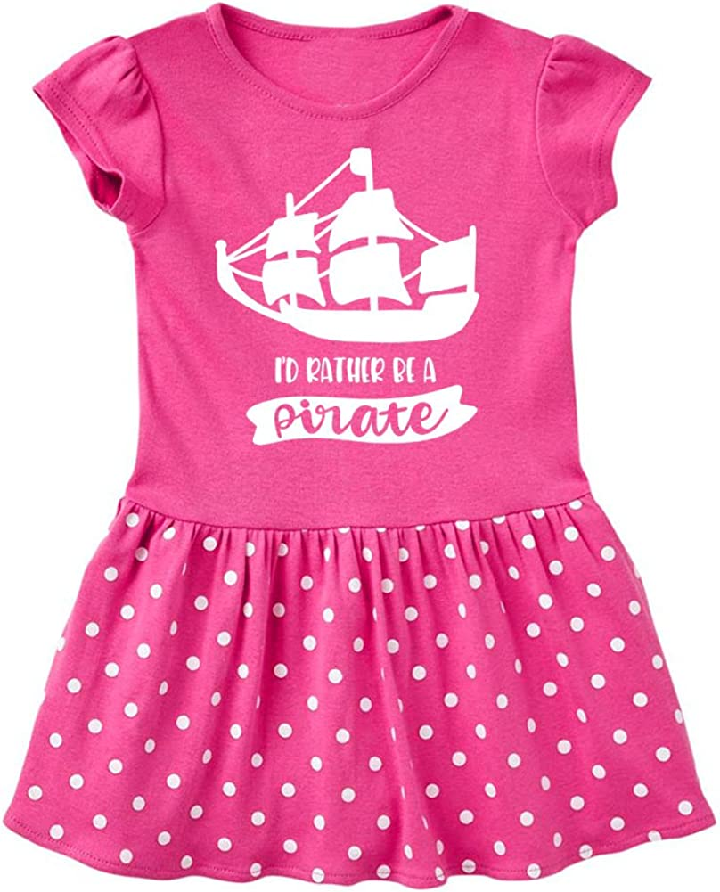 Fun /& Trendy Baby Infant Dress Id Rather Be A Pirate Mashed Clothing Baby-Girls