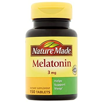 Nature Made Melatonin 3mg Tablets 120 ea (Pack of 4)