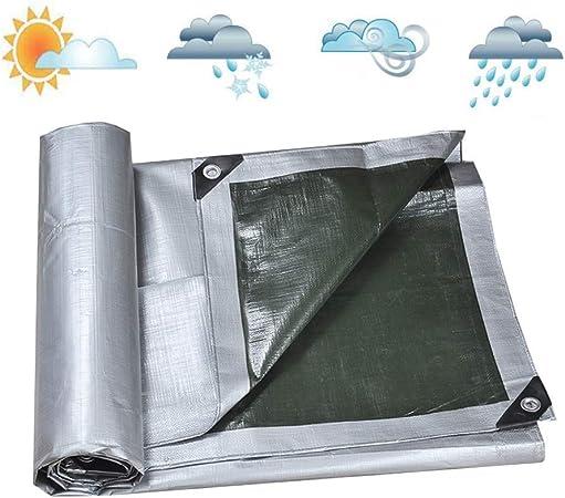 BH Lona Impermeable Pérgola de Alta Resistencia Protector Solar Espesador de Tela Resistente a la Lluvia Perforadora Borde PE Plegable, 18 tamaños, Personalizable (Color: Plata, Tamaño: 3X5m): Amazon.es: Hogar