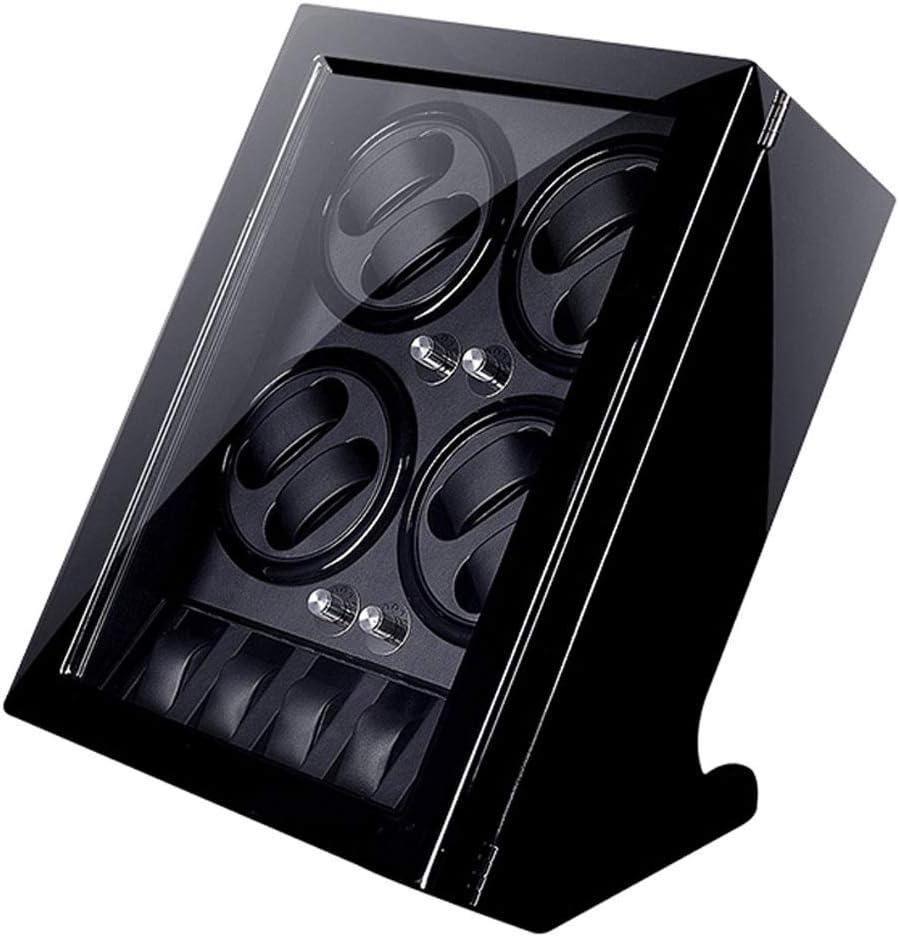ZCXBHD ラグジュアリーウォッチ表示ワインダーボックス8 + 5内蔵LEDライト自動ウォッチワインダー、静かなモーターを5つの回転モード、 11.26 (Color : A)