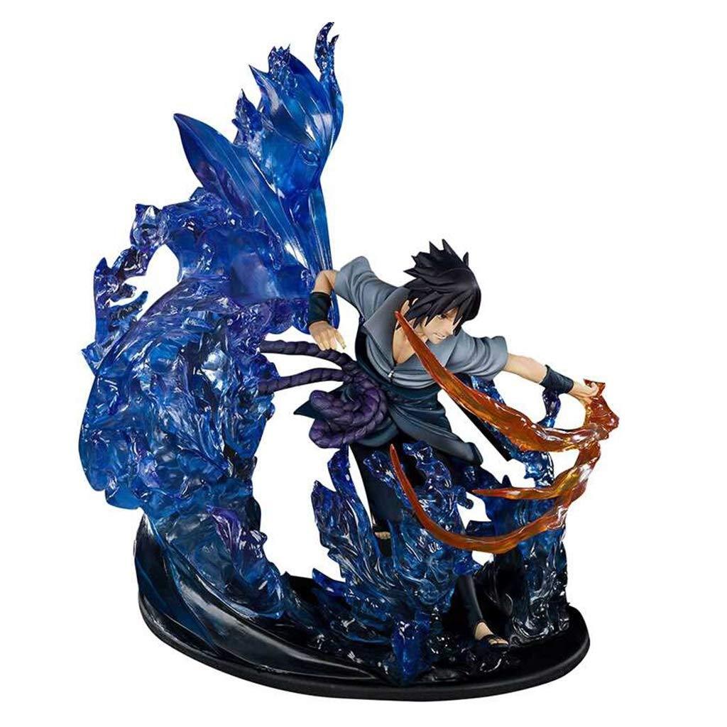 HappyL Naruto Spielzeug Statue Uchiha Sasuke Spielzeug Statue Collection//Crafts-21CM Spielzeugstatue