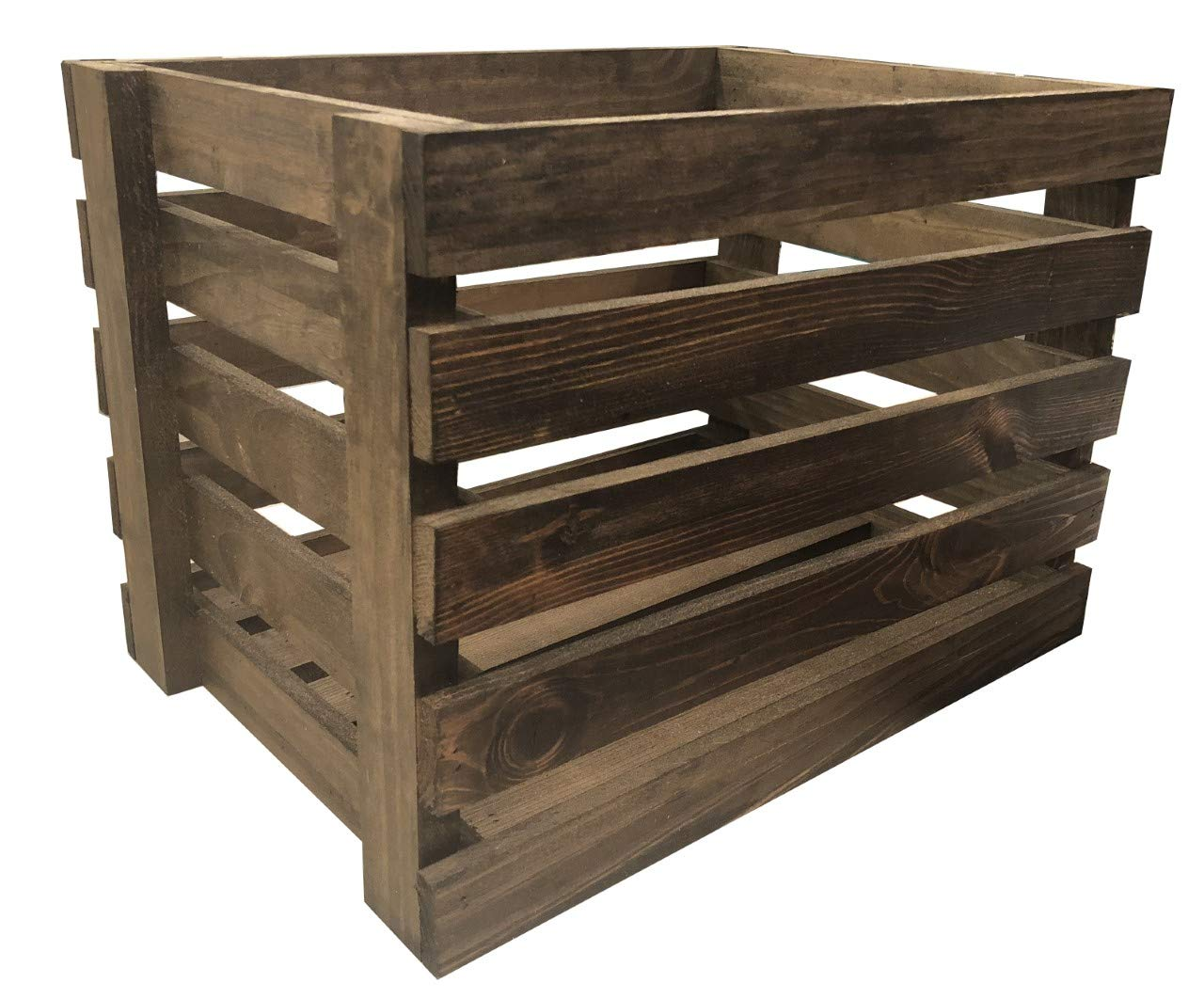Mowoodwork Large Pine Wood Crates by Mowoodwork