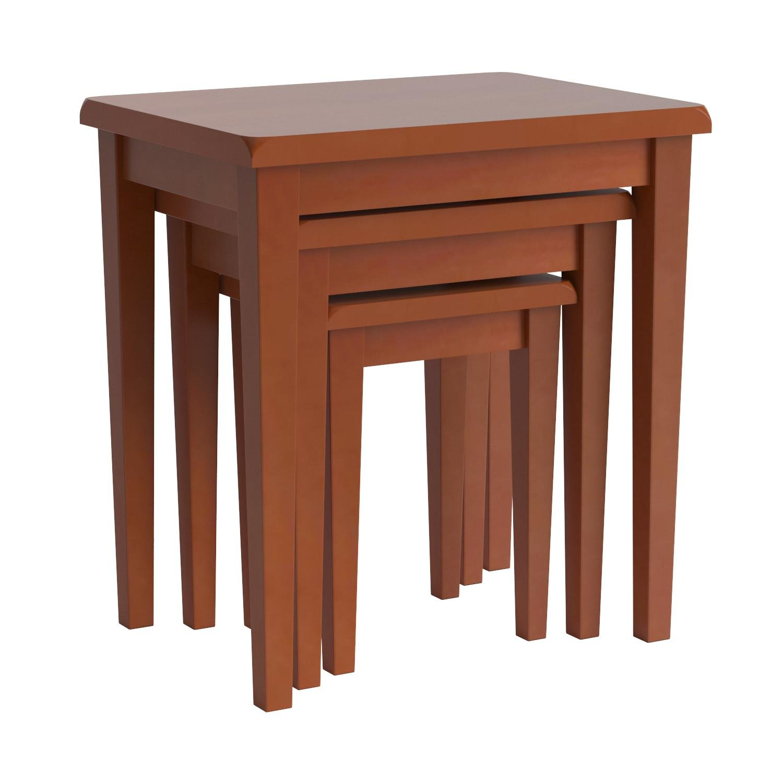 Winsome Wood Nesting Table, Walnut