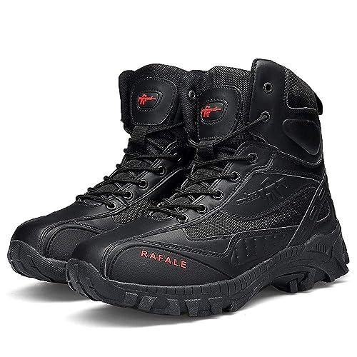 Zapatillas Running Hombre Deportivas Hombre Ofertas Hombres Bota Militar Táctico Desierto Combate Tobillo Barco Ejército Zapatos De Trabajo Botas De ...