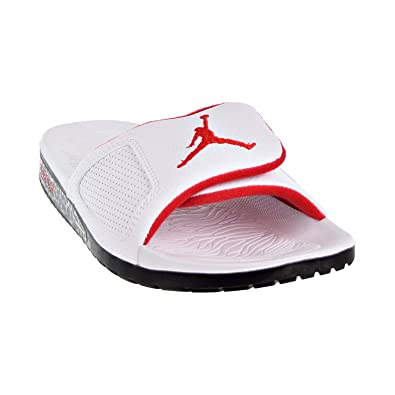e515b24af54bfb Image Unavailable. Image not available for. Color  Jordan Air Hydro III  Retro White   University Red-black ...