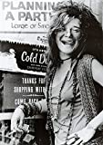 (24x33) Janis Joplin Planning a Party Music Poster Print