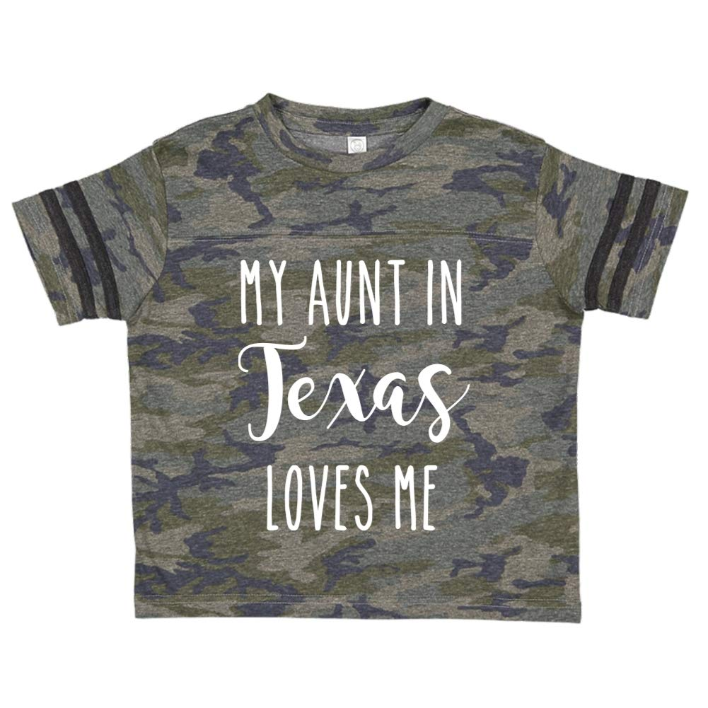 My Aunt in Texas Loves Me Toddler//Kids Sporty T-Shirt