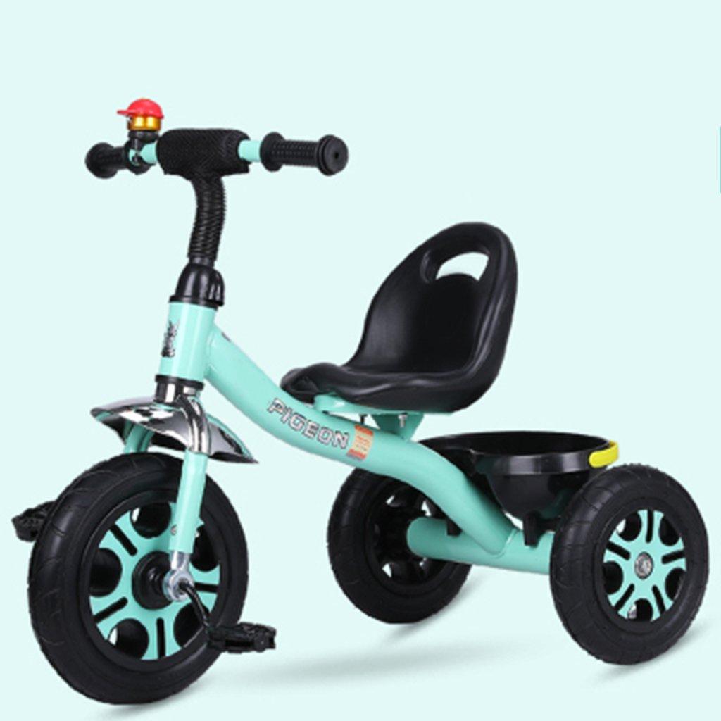 HAIZHEN マウンテンバイク 子供用三輪車1-6歳の軽量自転車非膨張式防爆チタン空車自転車 緑 最安値に挑戦 全商品オープニング価格 B07DL7Z72H 新生児