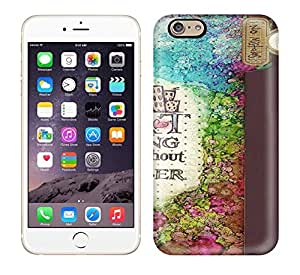 Durable Defender Case For Iphone 6 Tpu Cover(Journal Art)