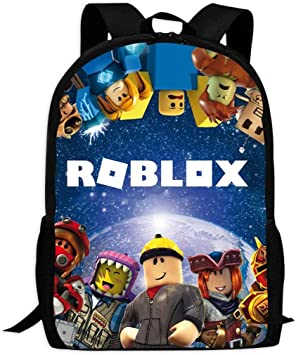 Boys Girls ROBLOX Kids  Book Bag Children Travel Backpack School Backpack Bags