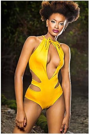 Sexy yellow underwear