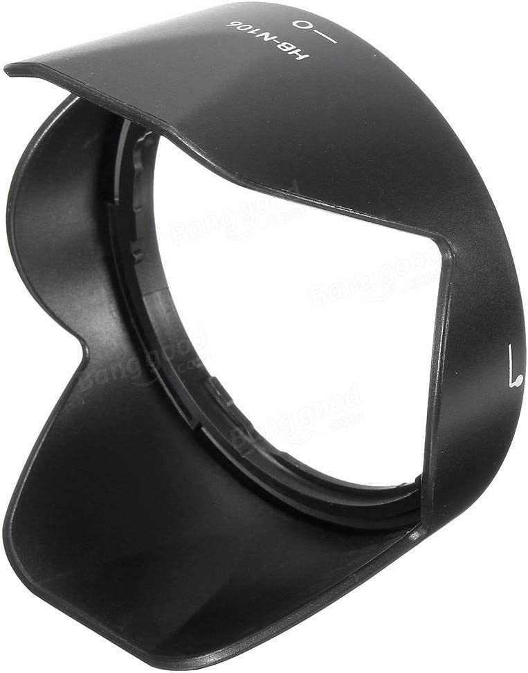 1x Len Hood Lenses /& Accessories Lens Hoods Lens Hood for HB-N106 18-55 D3300 Lens D5300 AF-P Accessories 10-100mm