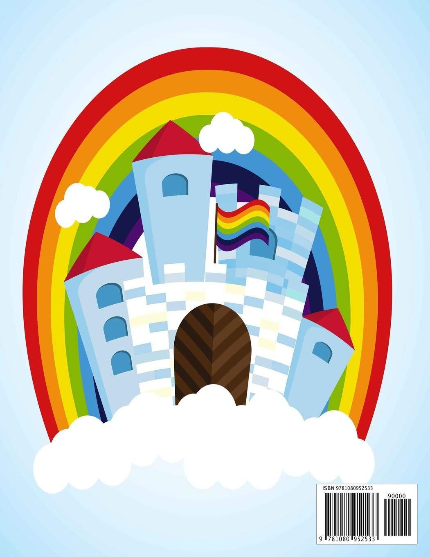 buy magic rainbow castle month academic year calendar