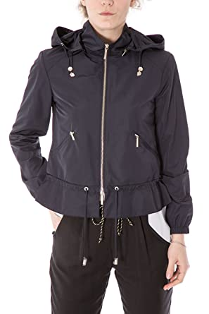 Armani Jeans - Women s Hooded Jacket Blouson 3y5b44 5nxez  Amazon.co ... 58ee643e889
