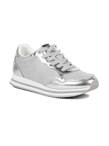 2027a60029d8d Aldo Ulerin Women Metallic Sneakers: Amazon.in: Shoes & Handbags