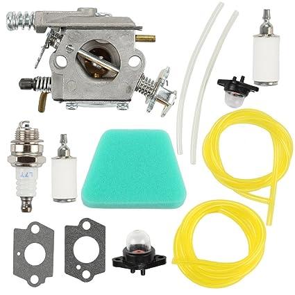 Amazon Com Harbot Carburetor Gasket Fuel Line Pimer Bulb Air Filter