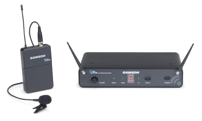 Samson Concert 88 Presentation 16-Channel True Diversity UHF Wireless System (Channel D) by Samson Technologies