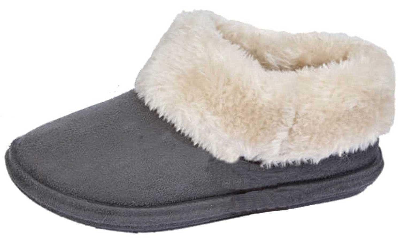 Zapatillas para Mujer Chiltern Jo /& Joe de Piel de Oveja sint/ética con Forro Polar Tallas 36 a 46.